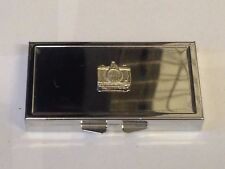 Camera TG295 Pewter On Mirrored 7 Day Pill box Compact