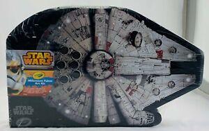 Star Wars Millennium Falcon 75 Piece Crayola Art Kit Brand New Sealed FREE SHIP