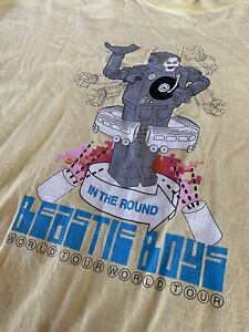 Vintage 1990s Beastie Boys In The Round Tour T-Shirt Size XL Rap Tee Hip Hop