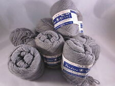 Lot 8 Oxford Gray Grey Wool Yarn Pandora 1oz ea