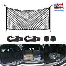 Car Accessories Envelope Style Trunk Cargo Net Storage Organizer Universal Us (Fits: Hyundai Accent)
