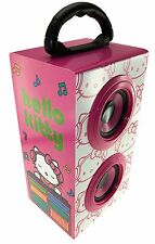 Hello Kitty DJ Portable Rechargeable Party Speaker with Carry Handle
