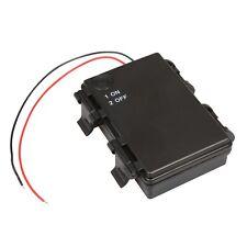 5 Stück outdoor Batteriehalter 3x AA mit EIN-AUS Schalter Batterie-Fach IP44