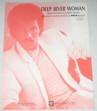 Sheet Music , Lionel Richie - Deep River Woman 1986
