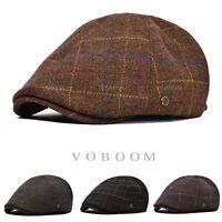 Chapeau d'hiver en laine pour hommes Duckbill Ivy Flatboy Newsboy Gatsby E1