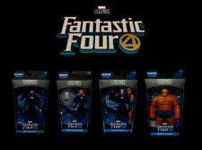 Marvel Legends HUMAN TORCH MISTER FANTASTIC 4 INVISIBLE WOMAN & THING Comics Set