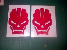 X box Skulls 100mm Decal Sticker Fit PS3 all colours