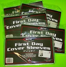 500 FIRST DAY COVER POLY SLEEVES, FOR #6-3/4 COVERS, SPECIAL PRICE, BUY NOW!