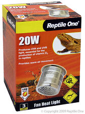 Reptile One R1-46541 Fan Heater 20W Low Voltage Terrarium, Vivarium & Reptiles