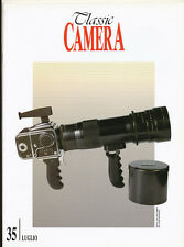 Classic Camera  N.35 Luglio 2000 rivista in italiano collezionismo fotografico
