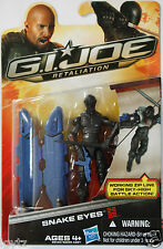 "SNAKE EYES NINJA Hasbro GI JOE Retaliation Movie 2012 3.75"" ACTION FIGURE"