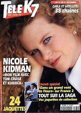 TELE K7 1996: NICOLE KIDMAN_BRIGITTE BARDOT_LAURENT BAFFIE_BRUNO WOLKOVITCH