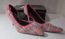 Dante Pink Tweed Runway - 73 Shoes Size 9