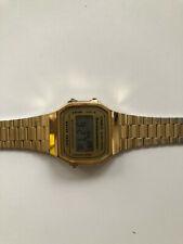 Armbanduhr CASIO Classic A168WG-9EF gold, unisex