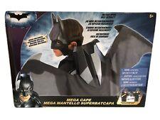 BATMAN Dark Knight Retractable Bat Wings Mega Cape COSPLAY Costume 5' Wingspan