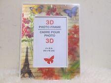 """(New) 3D Photo Frame Cadre Pour Photo (Size : 4"""" x 6 """" ) 10 cm x 15 cm"""