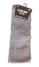 Ladies Glitter Over The Knee Thigh High Socks Girls Long Lurex Hold UPS Purple