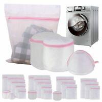 3/4/5/7Pcs Fine Mesh laundry Wash Bag For Delicates Lingerie Underwear Socks Bra