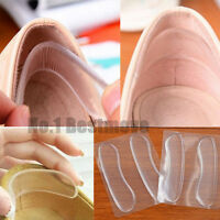 1Pair High Heel Silicone Gel Heel Cushion Foot Care Shoe Insert Pad Insole