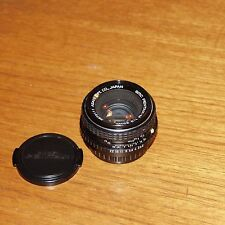 PENTAX Fixed/Prime Focal Vintage Camera Lenses