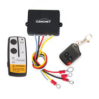 DC 12V 50ft Winch Wireless Remote Control Set Kit for Truck Jeep ATV Warn Ramsey