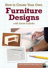How to Create Your Own Furniture Designs with Aaron Fedarko DVD