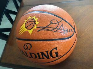 DEANDRE AYTON SIGNEDAUTHENTIC PHOENIX SUNS BASKETBALL #1 OVERALL PICK