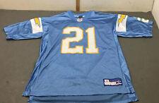 LaDainian Tomlinson San Diego Chargers Reebox Powder Blue Jersey Size Large