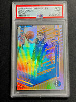 2018-19 Panini Chronicles Elite Bronze #27 Luka Doncic Basketbal RC Rookie PSA 9