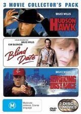 Bruce Willis 3 Movie Set Hudson Hawk Blind Date Striking Distance Region 4 DVD