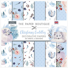 Christmas Cuddles - The Paper Boutique 6x6 Paper Pad - 36 Sheets - Winter