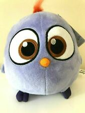 """Large 8"""" Purple Angry Birds Hatchling Plush Toy . Licensed. New. Soft"""