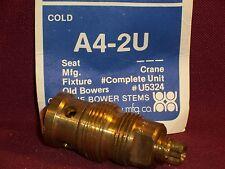 Vintage Mid-Century Crane Sink Faucet Parts Repair Stem Valve Seat a4 2u cold