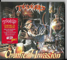 CD-TANKARD-CHEMICAL INVASION-DELUXE EDITION-HARD ROCK HEAVY METAL