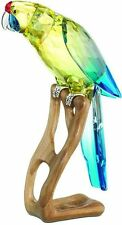 Swarovski Crystal Green Rosella Jonqui Birds of Paradise 901601 Mega Figure MIB