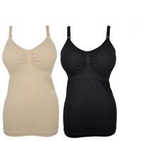 Womens Maternity Feeding Nursing Bra Vest Sleeveless  Breastfeeding Tank Top