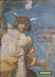 LT- GIACOMO CAVEDONE PITTORE 1577/1660 - NEGRO ROIO - CREDEM--- 1996- CS- ZFS371