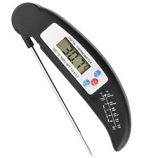 Digital LCD Küchenthermometer BBQ Grill Thermometer Bratenthermometer mit Fühler