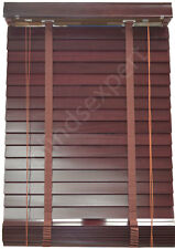 Timber or Wooden Venetian Blinds - 1950mm Width x 2100mm Drop