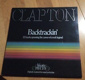 Eric Clapton - Backtrackin - LP Vinyl Record - Master Pieces - Erick 1 - VG+