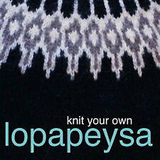 NEW DVD: KNIT YOUR OWN LOPAPEYSA Iceland Yoke Sweater Eiriksdottir Ooinn Freyja