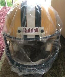 New in Box! Green Bay Packers Super Bowl XXXI Riddell Replica Full Size Helmet
