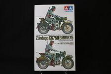 XD084 TAMIYA 1/35 maquette moto 35023 300 German BMW R75 zundapp KS750