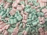 Packing Peanuts Shipping Anti Static Loose Fill 30 Gallons 4 Cubic Feet Mixed