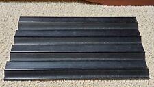 """Vintage Set of 4 Black Wooden Mahjong Tile Holder Racks 16"""" long Mah Jongg"""