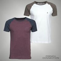 Mens French Connection Short Raglan Sleeves T Shirt Top Sizes from S to XXL