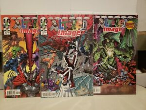 Altered Image Set #1-3 Comics 1998 Signed Jim Valentino Spawn Witchblade Maxx
