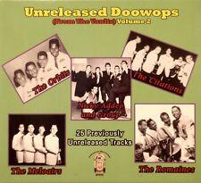 UNRELEASED DOOWOPS (From the Vault) - Volume #2 - 25 VA Tracks