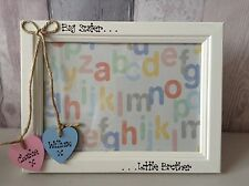 Big Sister Little Brother Big Brother Little Sister Twins personalised frame 4x6