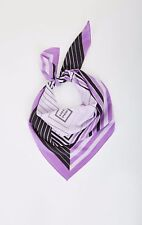 NEW AUTHENTIC HERVE LEGER  SILK SCARF with Gift Envelope £255